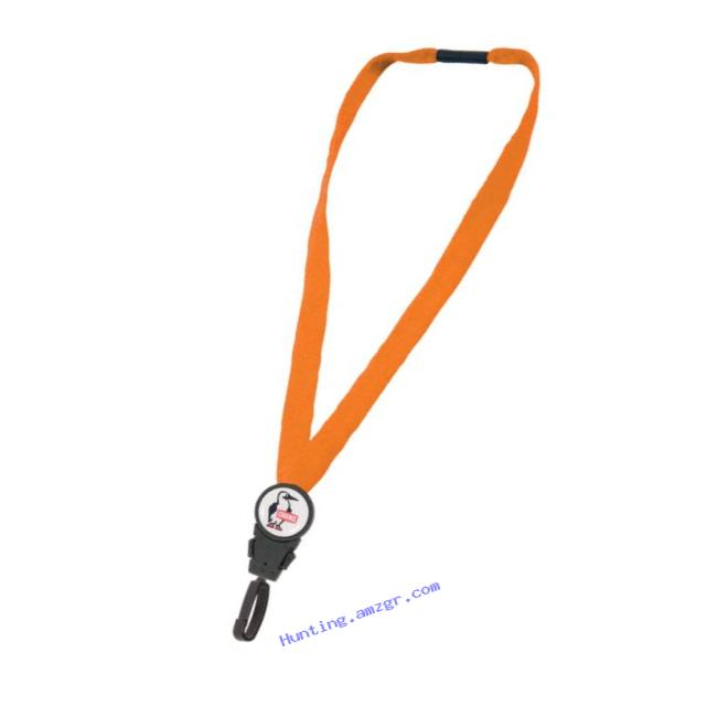 Chums Safety 11112 Cotton Detachable Breakaway Lanyard with RHook15 J-Clip Attachment, Orange (Pack of 6)